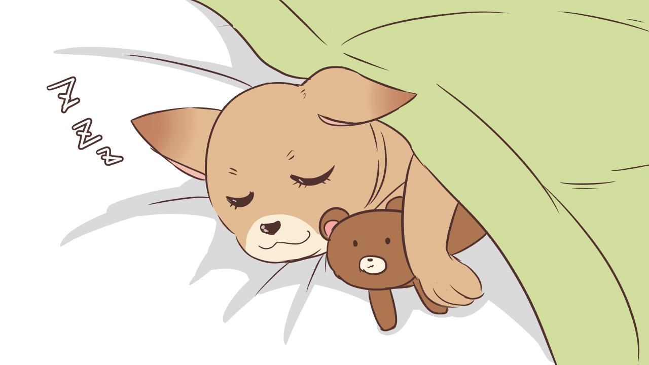 良くないとわかってても一緒に寝ちゃう