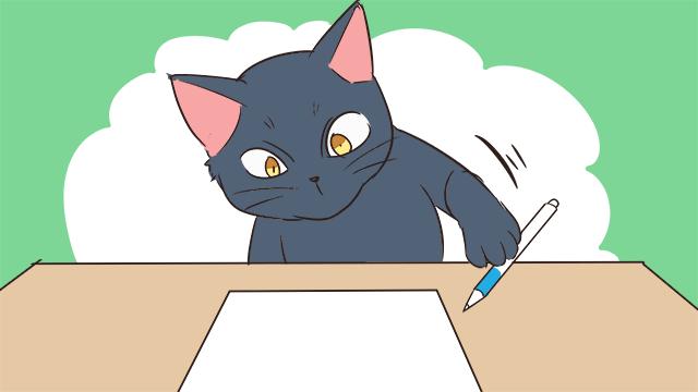 ペンが盗まれる!