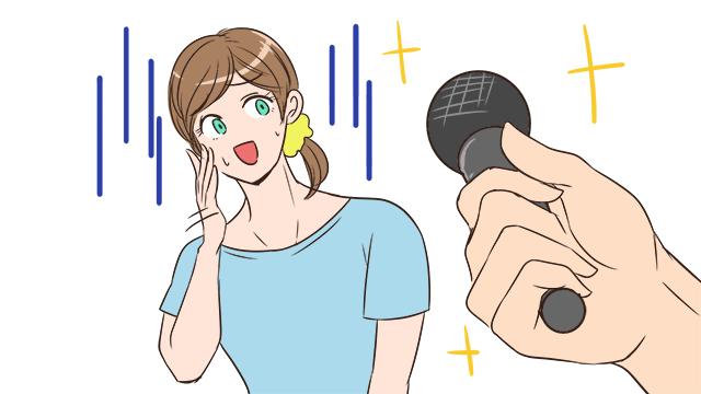 人のを聴くのは好きだが歌いたくはない