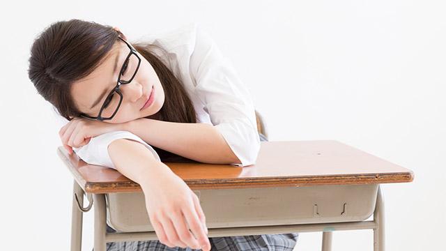 学校の授業あるある!寝れる授業と寝れない授業!