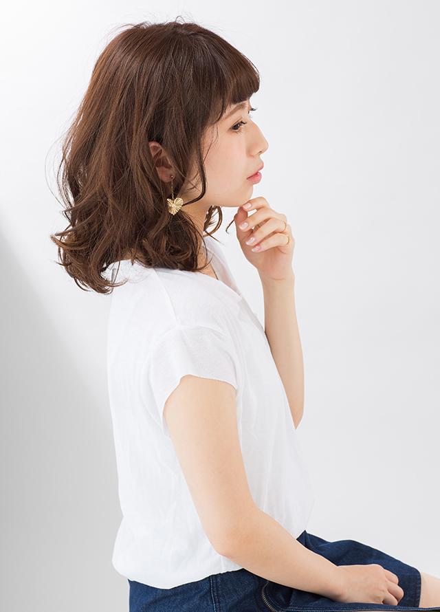 ランダムカールセミディ【サイド】