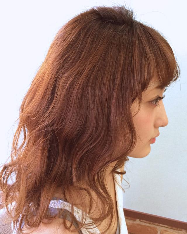「シースルーバング」の写真【サイド】