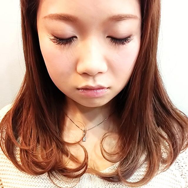 「カチューシャ風ねじり前髪アレンジ」の手順_2