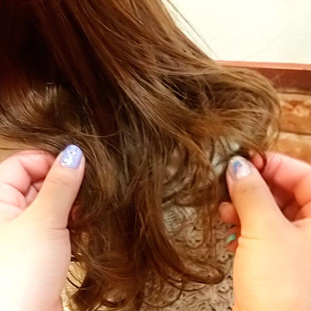 「カチューシャ風ねじり前髪アレンジ」の手順_6