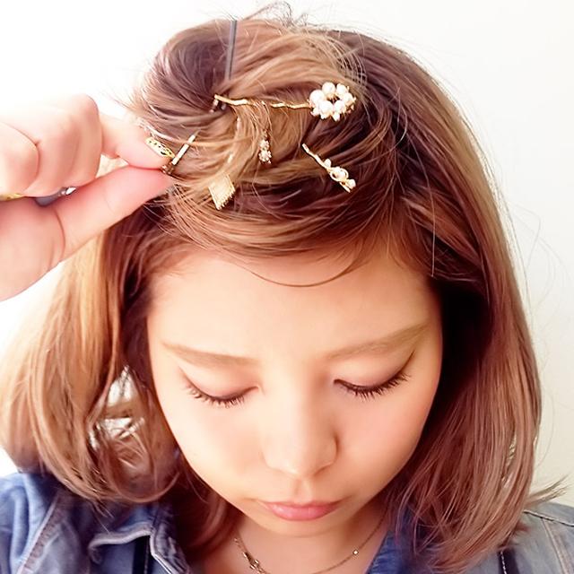 「都会っぽいヘアアレンジ」の_5