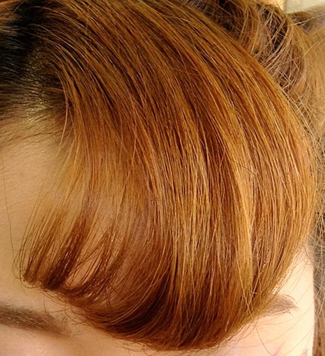 「浴衣に似合う編み込みヘアアレンジ」の手順_6