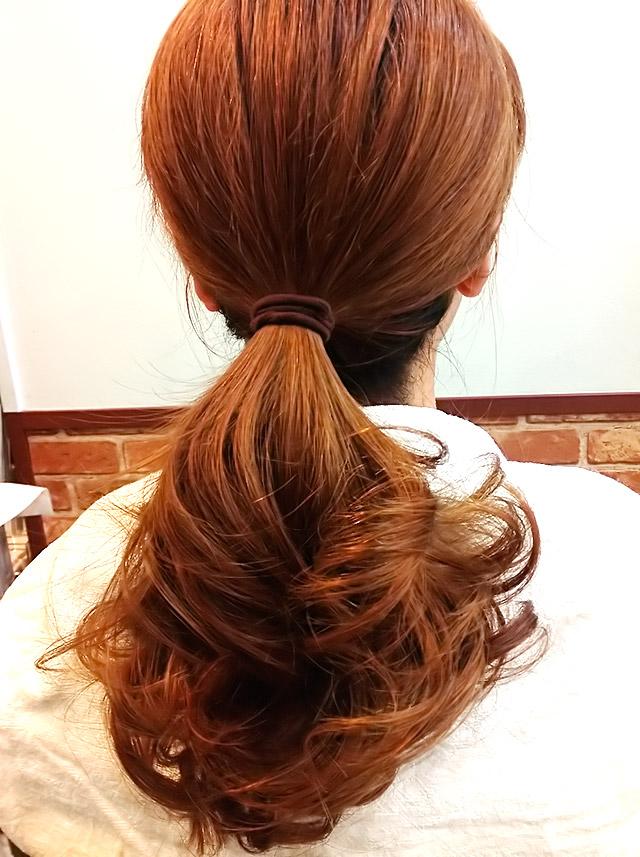 「夏を楽しむヘアアレンジ」の手順_2