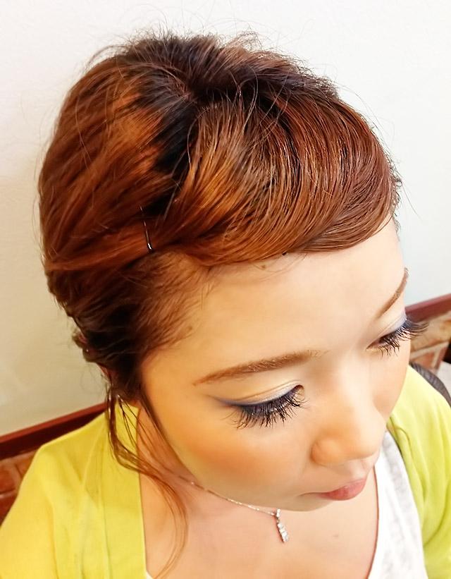 「夏を楽しむヘアアレンジ」の手順_6