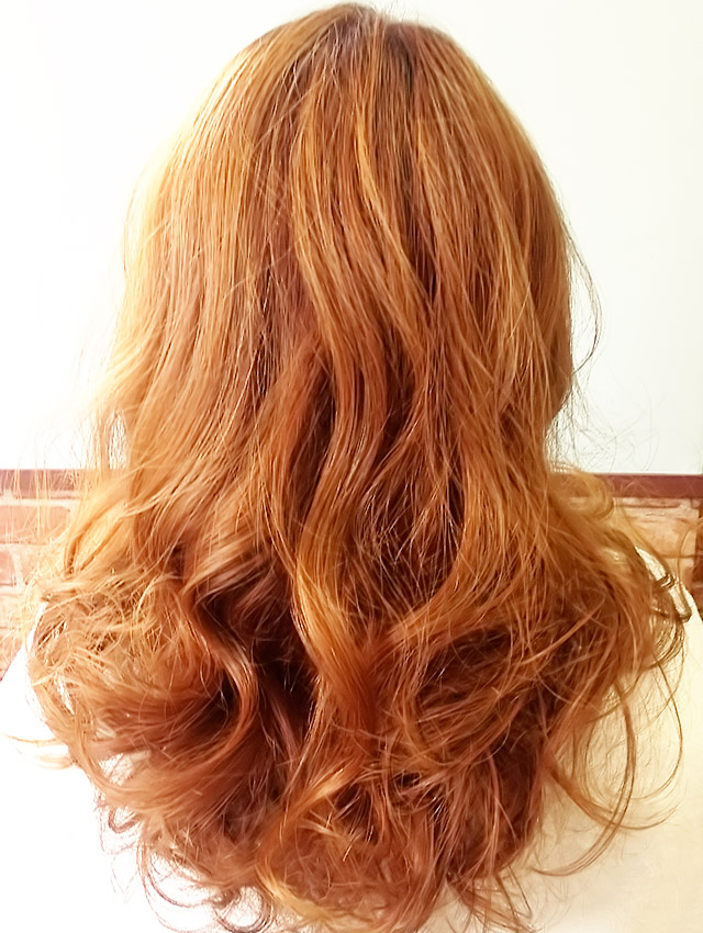 「夏の夜のデートヘアアレンジ」の手順_1