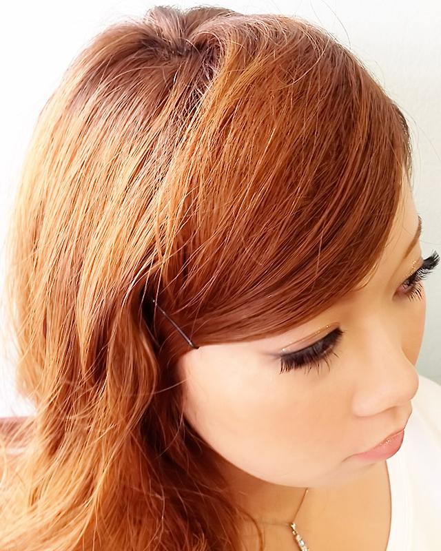 「夏の夜のデートヘアアレンジ」の手順_3