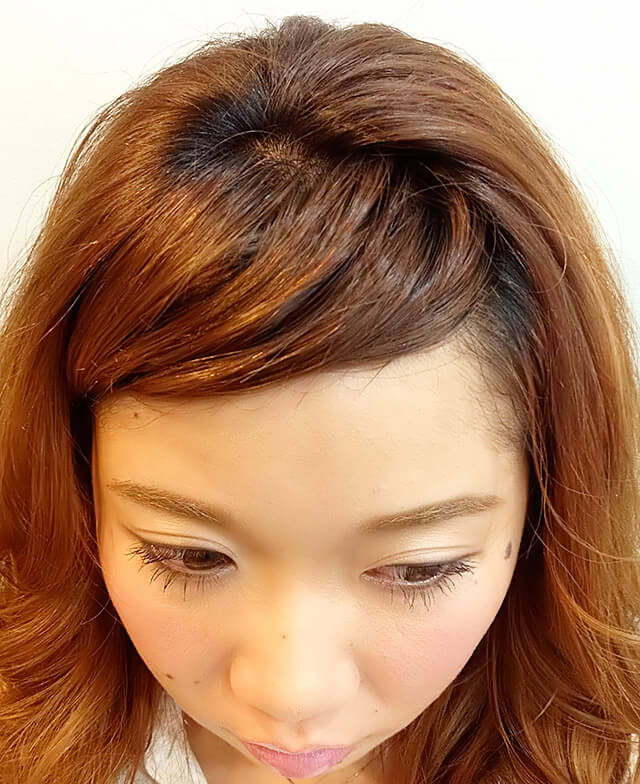 「王道スウィートヘア」の手順_2
