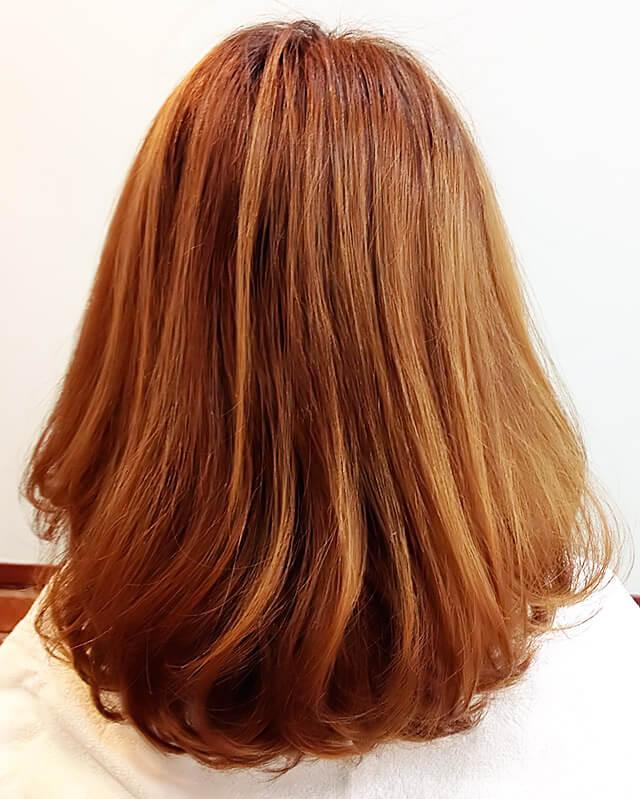「クリスマスパーティーや女子会向きヘアアレンジ」の手順_1