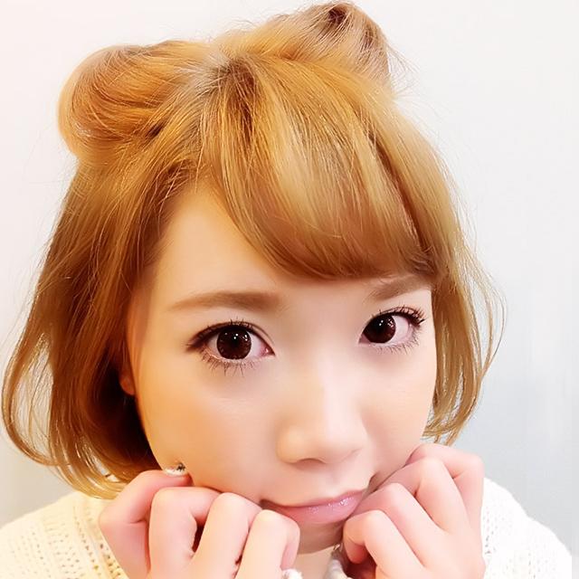 「スウィートバレンタインヘアアレンジ」の写真【正面】