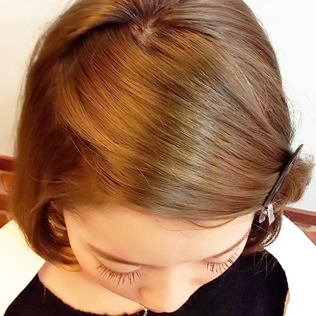 「通勤&通学にぴったりのヘアアレンジ」の手順_2