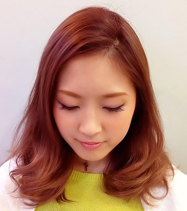 「浴衣に似合うヘアアレンジ」の手順_1