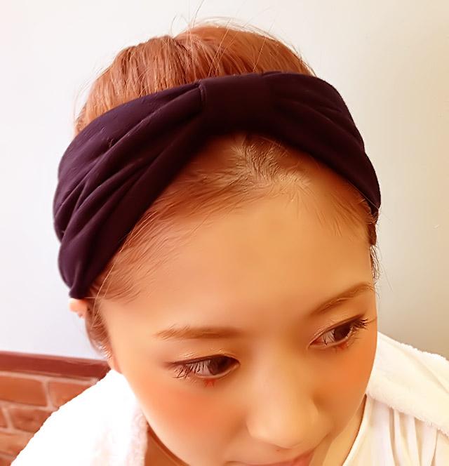 「汗をかいても大丈夫なヘアアレンジ」の手順_2
