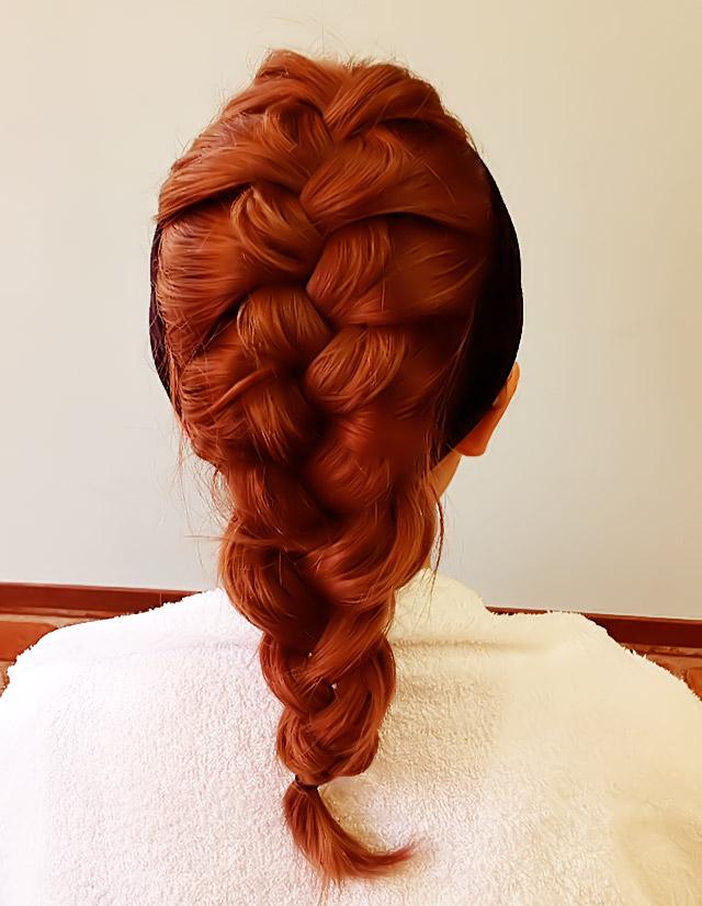 「汗をかいても大丈夫なヘアアレンジ」の手順_3