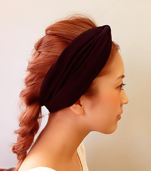 「汗をかいても大丈夫なヘアアレンジ」の写真【サイド】