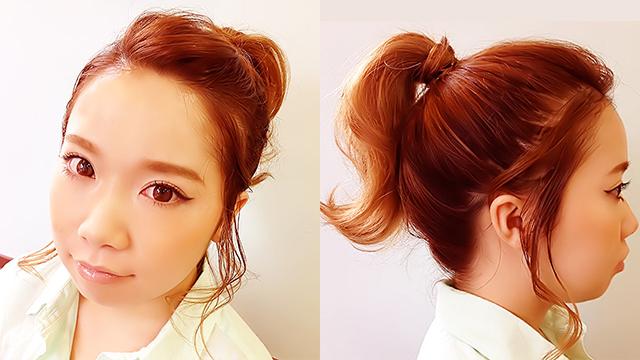汗で前髪がヨレる心配なし◎真夏でも涼しげなヘアアレンジ