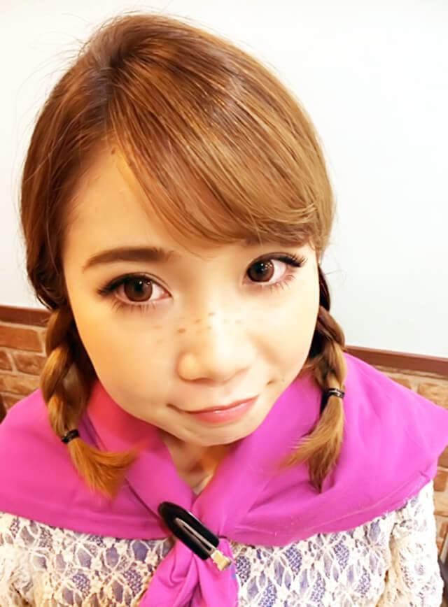 ありの~ままの~妹風★ハロウィンヘアアレンジ_5