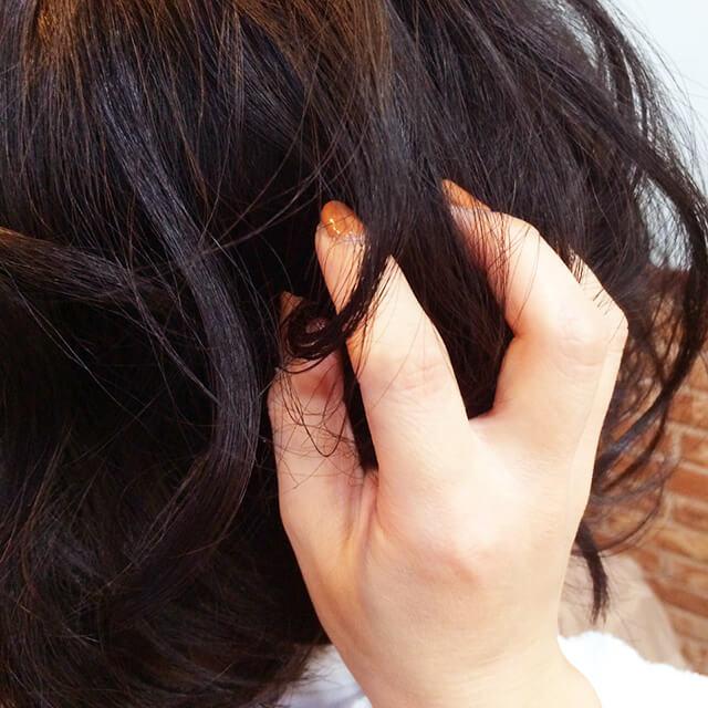 「興奮色気ヘアアレンジ」の手順_2