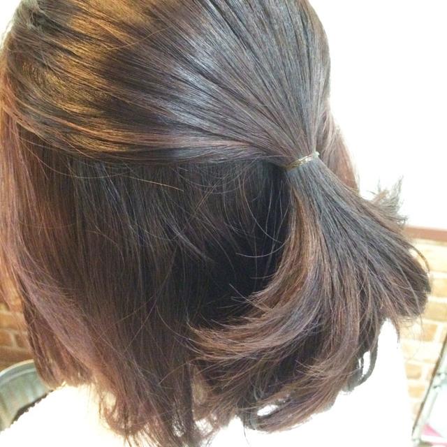 「春デートヘアアレンジ」の手順_2
