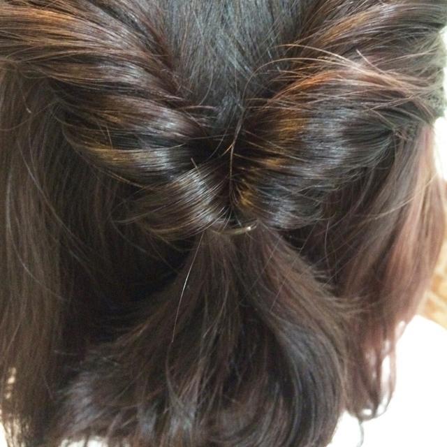 「春デートヘアアレンジ」の手順_4