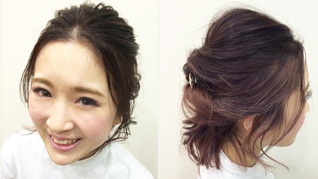 うぶ毛バングが女の子らしさを引き立てる!春デートヘアアレンジ