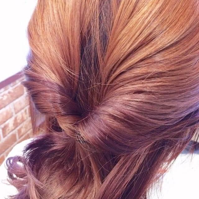 「360度完璧なヘアアレンジ」の手順_2