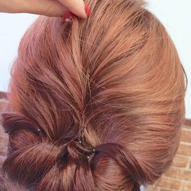 「360度完璧なヘアアレンジ」の手順_4