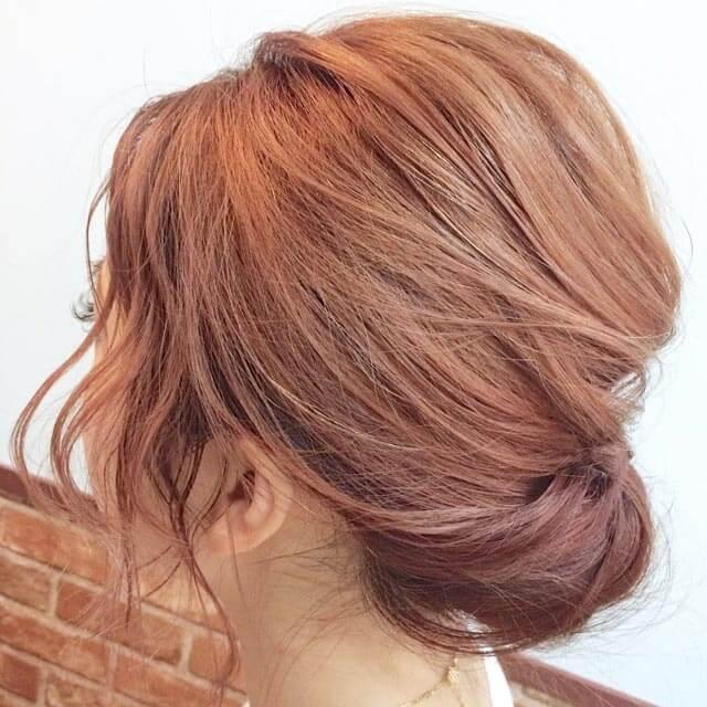 「360度完璧なヘアアレンジ」の写真【サイド】