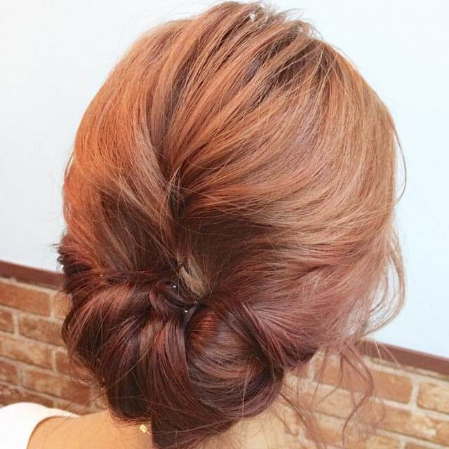「360度完璧なヘアアレンジ」の写真【バック】