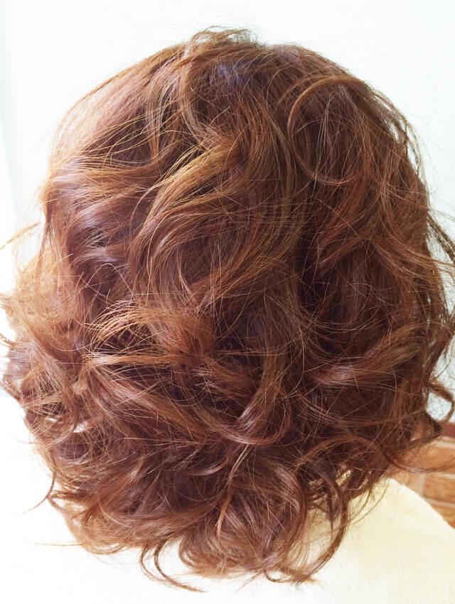 「ふわふわショートヘアアレンジ」の手順_2