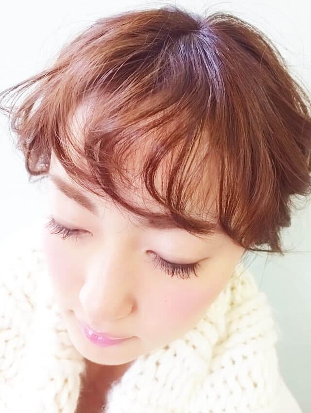 「ふわふわショートヘアアレンジ」の手順_5