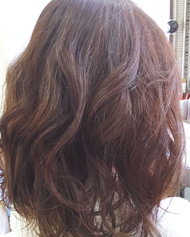 「春のときめきヘアアレンジ」の手順_1