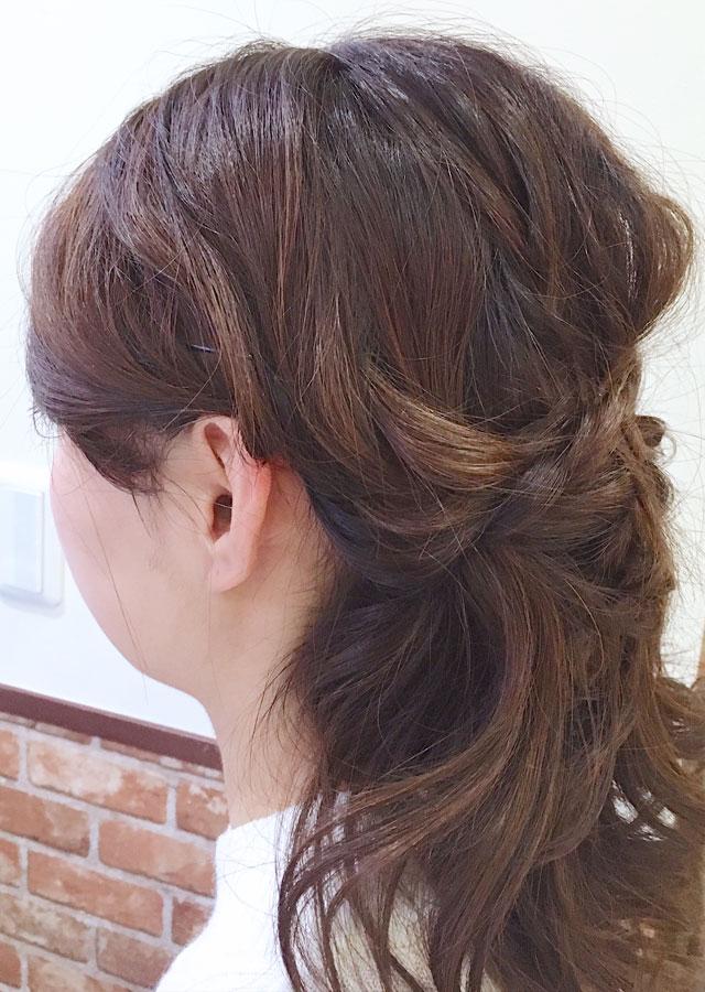 「春のときめきヘアアレンジ」の写真【サイド】
