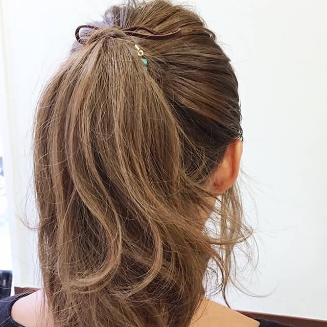 「王道スウィートヘア」の写真【バック】