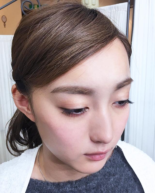「できる女風ヘアアレンジ」の手順_3