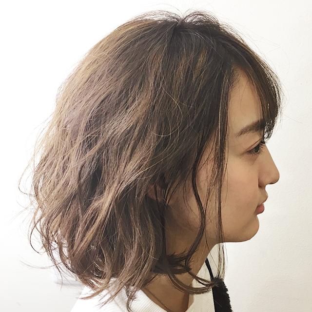 「無防備ヘアアレンジ」の写真【サイド】
