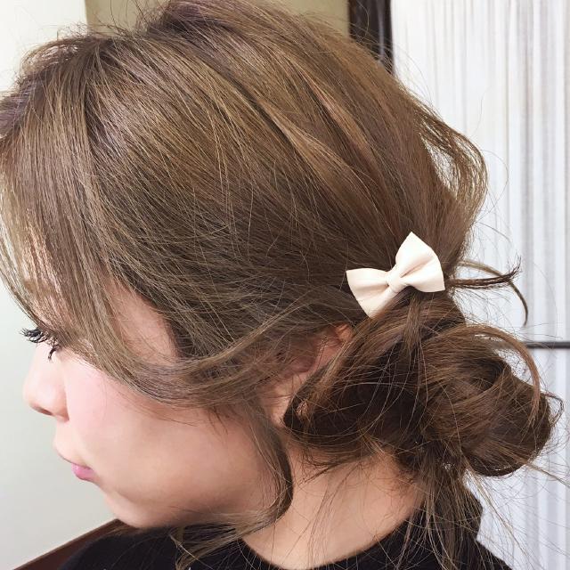 「あま甘なヘアアレンジ」の写真【サイド】