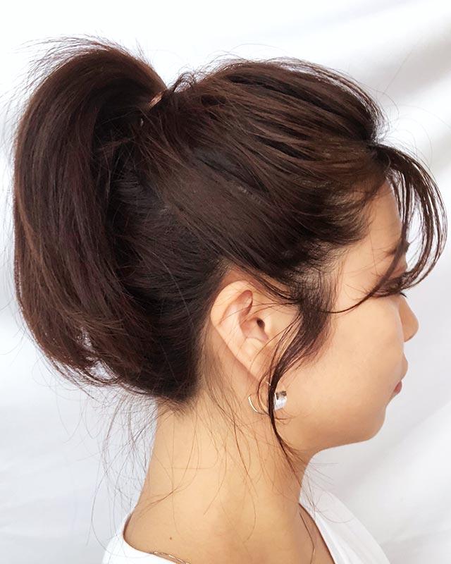 「男性を惹きつける魅惑のヘアアレンジ」の写真【サイド】