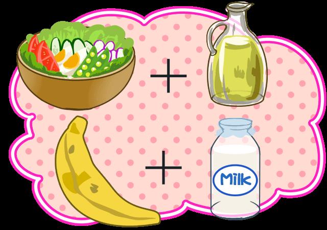 ビタミン・ミネラルでダイエット効果をUPさせる食べ合わせ術