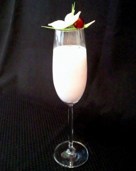 「ベビーピンクの春色ジュース」で免疫力UP