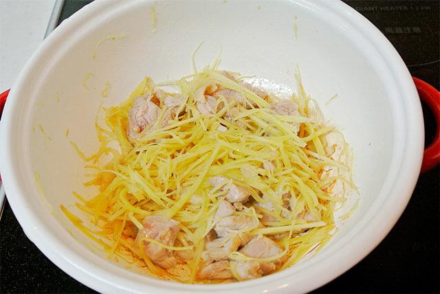 生姜と鶏肉のほっとするスープの作り方_12