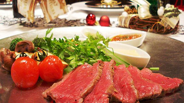 お肉を使ったオススメのダイエットレシピ~オーブントースターで作るローストビーフ
