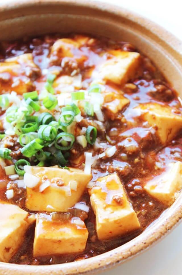 麻婆豆腐丼の作り方