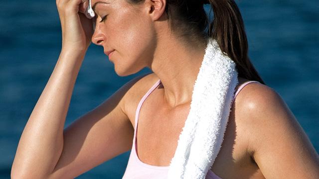 夏に気になる汗のニオイを抑える方法!