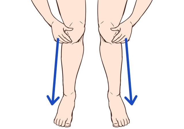 [立って行う]脚を本来の長さに戻すストレッチ_1