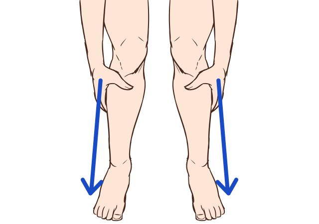 [立って行う]脚を本来の長さに戻すストレッチ_2