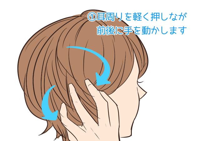 シャンプーの仕方を少し変えて、リフトアップで小顔効果_1